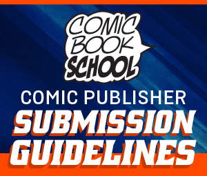 Comic publisher submission pages
