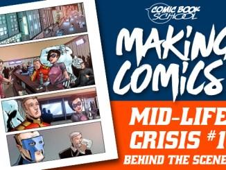 Mid-Life Crisis Making Comics Header