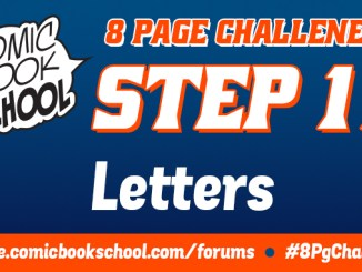 Header image for Step 11 of the 8-Page Comic Challenge