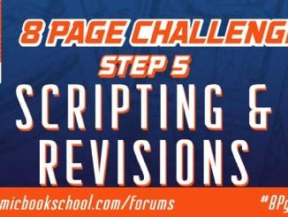 Header for Step 5 Scripting Comics