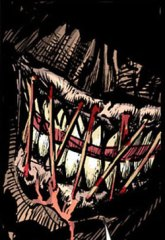Scarecrow's mouth