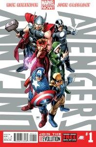 Uncanny Avengers Cover