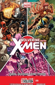 Wolverine and the Xmen cover