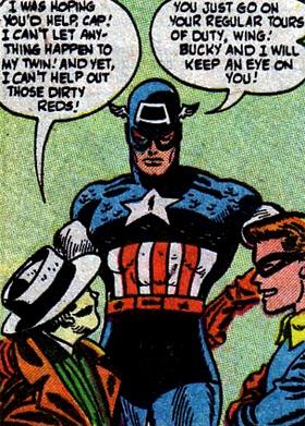 Captain America prend les choses en main...