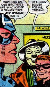 Wing est souriant... mais berné par Cap...