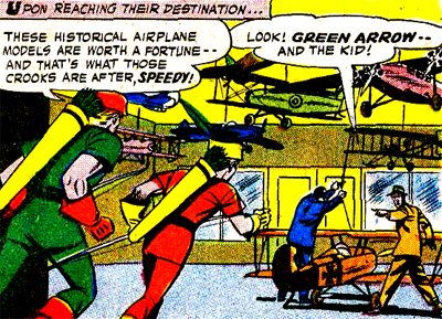 Green Arrow & Speedy