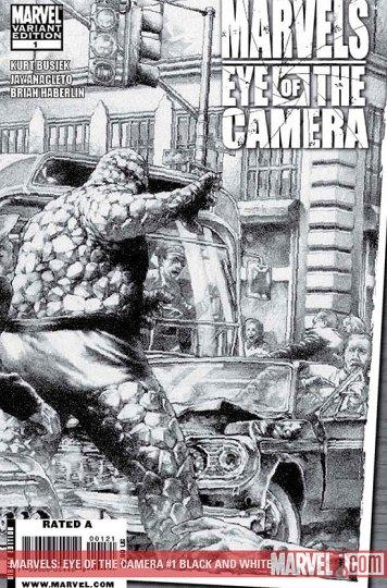 Marvels: Eye Of The Camera #1 Black & White Edition