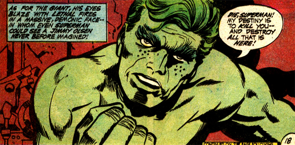 Hulk... err... Jimmy Smash !