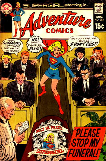 Adventure Comics #383 (Août 1969)