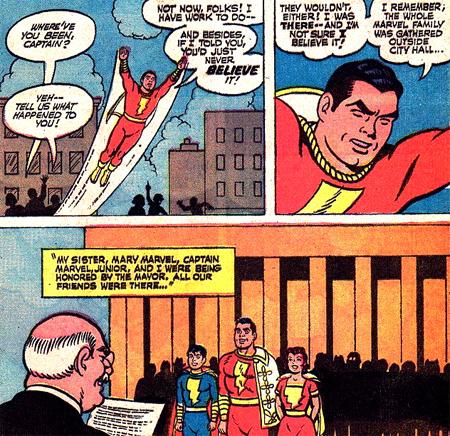 Où était passé le Captain Marvel pendant 20 ans ?