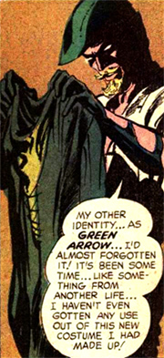 Malgré son nouveau costume, Oliver Queen s'interroge sur le devenir de sa carrière de super-héros...