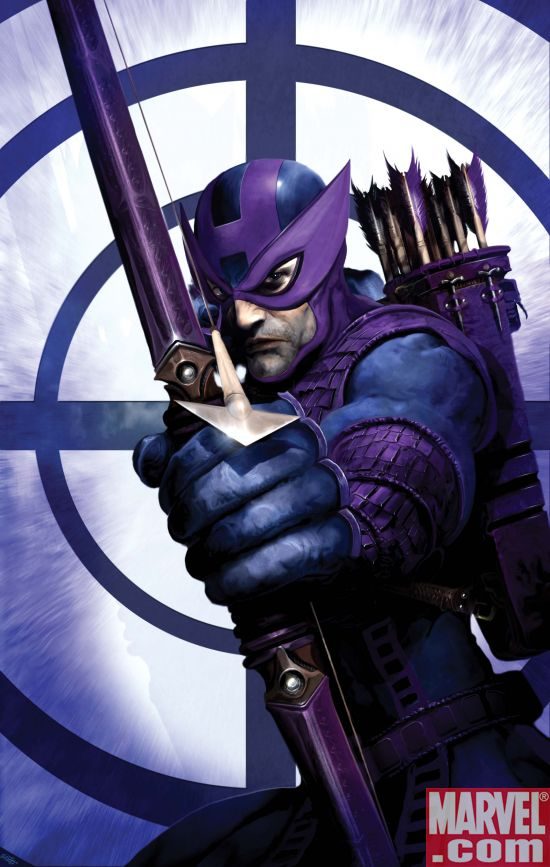 The Dark Avengers Hawkeye Cuts Loose!
