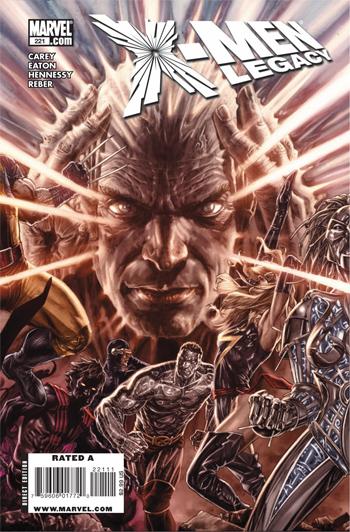X-Men: Legacy #221