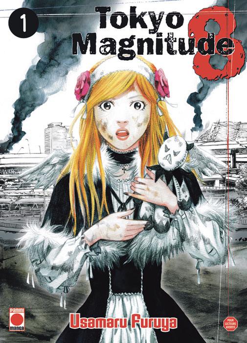 Tokyo Magnitude 8, Nouveau Seinen chez Panini Manga