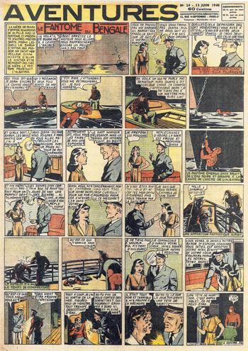 aventures n°24 de 1940