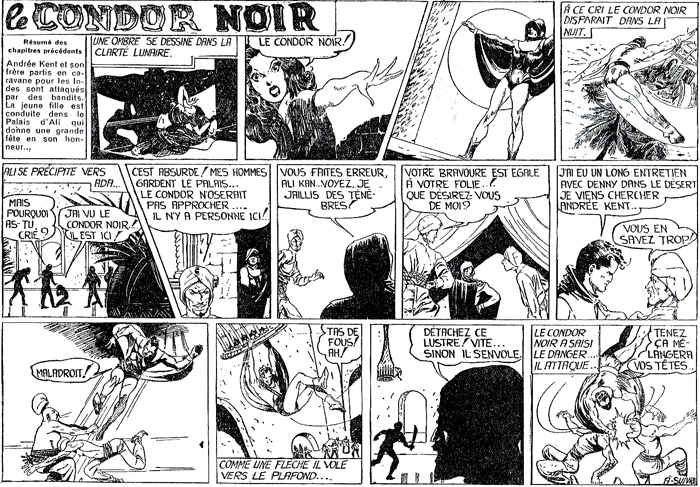 Black Condor en français