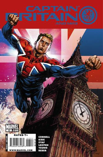 Captain Britain & MI13 #13