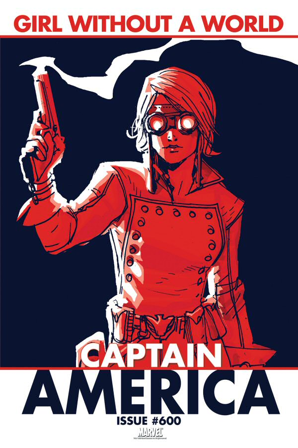 Captain America #600: Girl Without A World