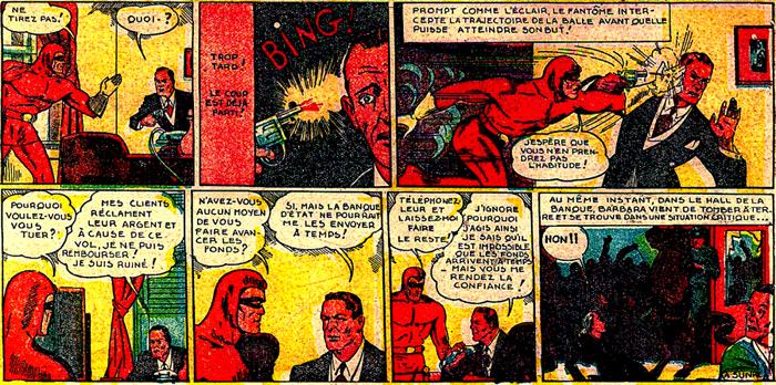 """Et comparez cette autre tentative de suicide stoppée net par le """"Fantôme d'Acier""""..."""