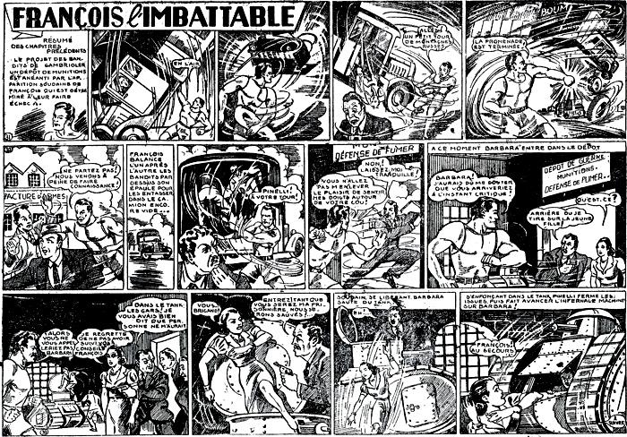 """Tarzan et les grandes explorations réunies 3, avec les aventures d'un certain """"François"""" qui ressemblent à celles de Superman... décalquées !"""