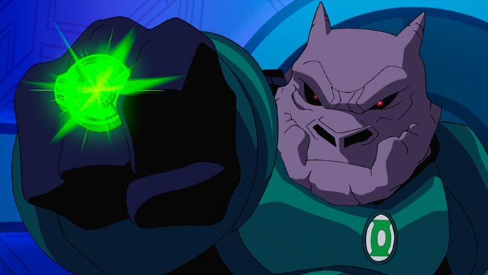 Michael Madsen (Reservoir Dogs) provides the voice of Kilowog, trainer of all Green Lantern recruits and a key character in Green Lantern: First Flight, an all-new DC Universe animated original movie set for distribution July 28, 2009 by Warner Home Video.