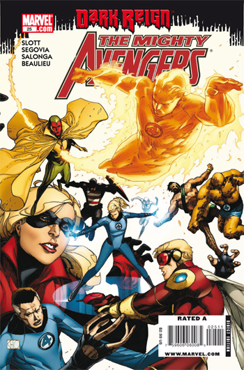 Mighty Avengers #25