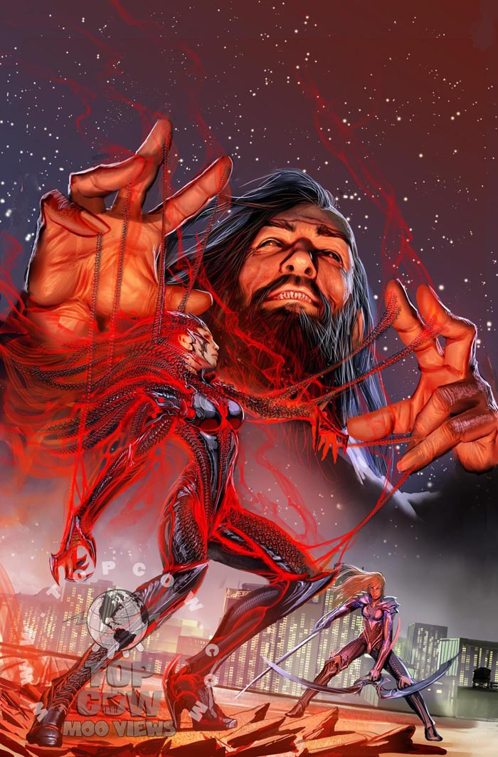 Luke Ross To Present Homage Cover Witchblade #128