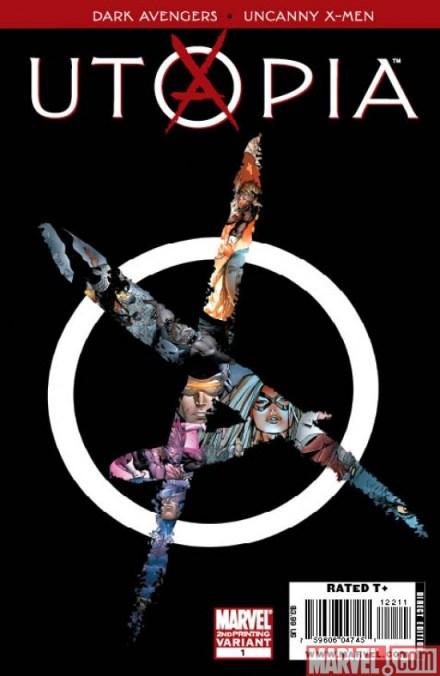 Dark Avengers/Uncanny X-Men: Utopia Second Printing!