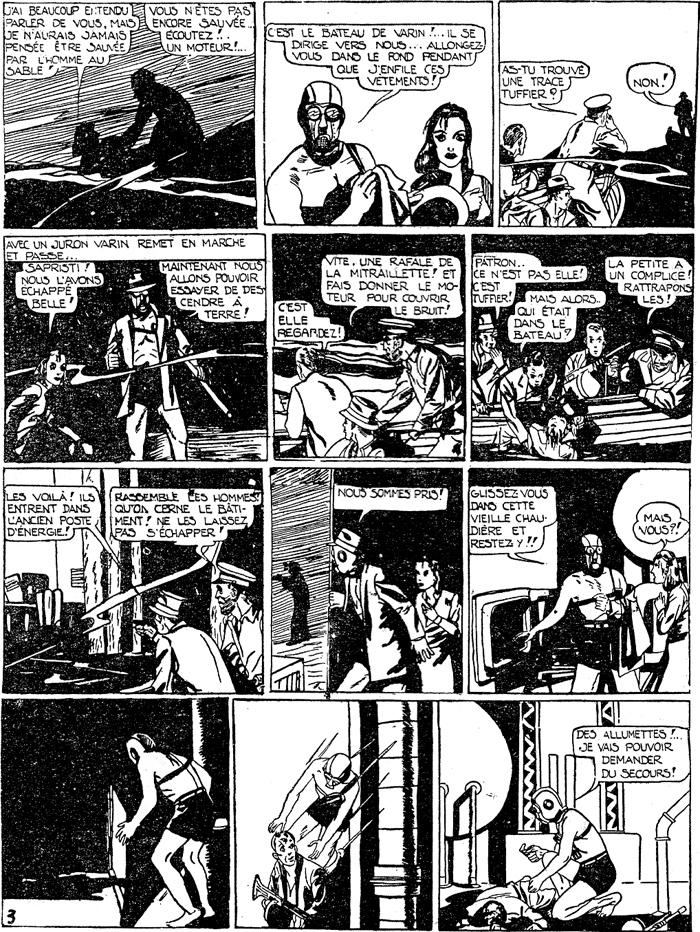 Les aventures du Sandman telles que traduites en VF pendant l'Age d'Or...