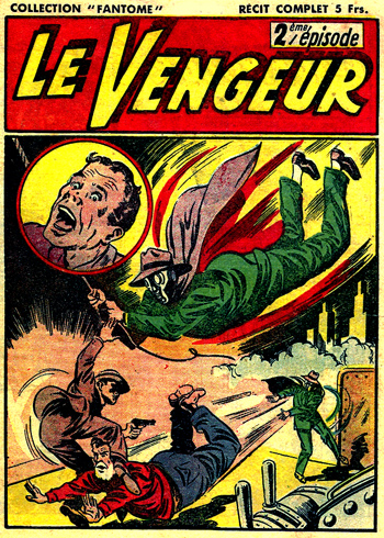 Le Vengeur 2ème épisode DL 134