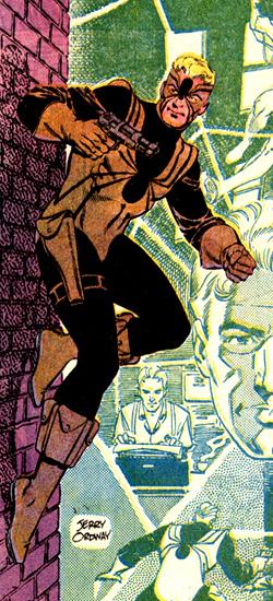 Tarantula dans son costume adopté dans les pages d'All-Star Squadron