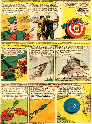 Green Arrow enseigne tous ses secrets...