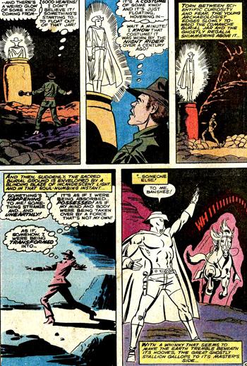 """Hamilton Slade, descendant de Carter Slade, est le premier """"Phantom Rider"""" � poss�der de vrais pouvoirs magiques..."""