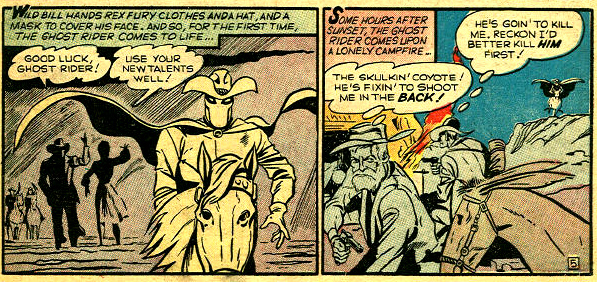 Le Ghost Rider enfin en costume...