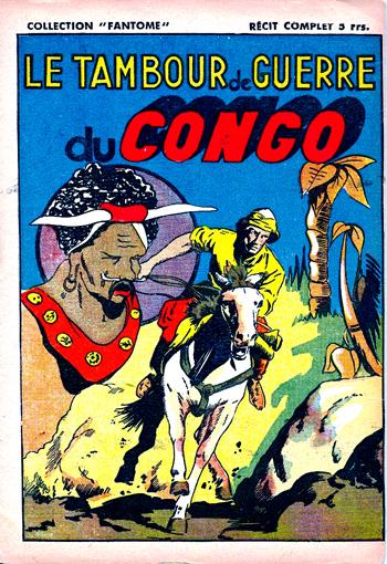 Le tambour de guerre du Congo DL 168