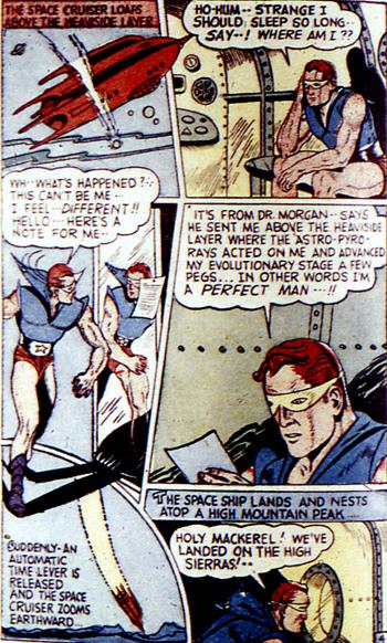 Jack Dawnson se réveille dans un curieux costume... et dans un vaisseau intersidéral !