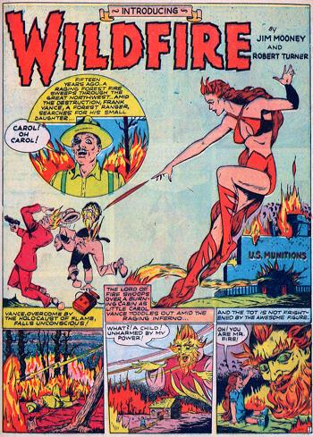 Wildfire, une Torche humaine au féminin...