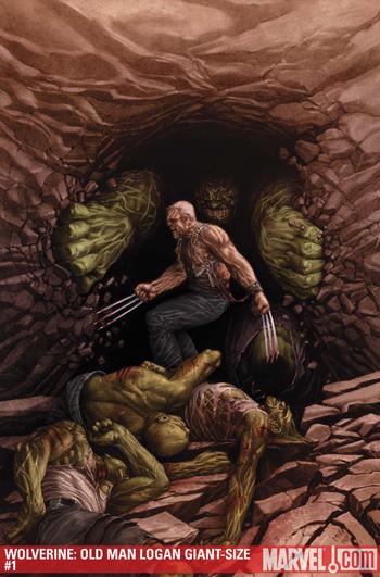 Wolverine: Old Man Logan Giant-Size
