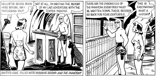 Le Phantom et les archives de ses ancêtres...