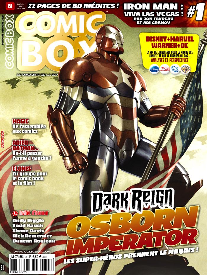 Comic Box #61, sortie mi-octobre 2009