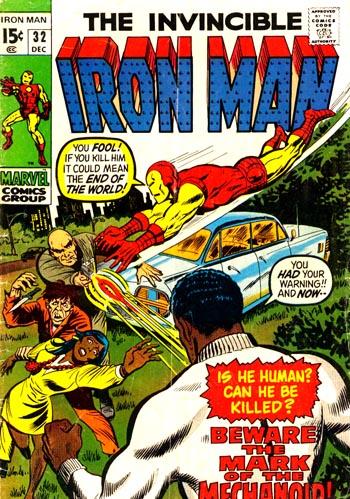 Iron Man #32 (Dec. 1970)