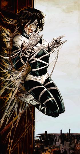 Spider-Queen par Ryan Kelly
