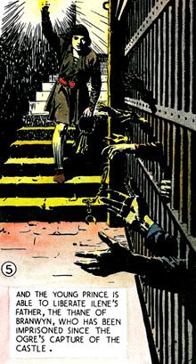 Des ambiance qui précédent d'une bonne douzaine d'années l'heure de gloire des EC Comics...