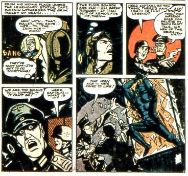 La Farge tombe et... le Iron Ace revient à la vie... Enfin d'une certaine manière !
