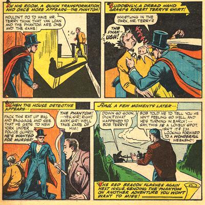 Le Phantom Detective coince finalement Terry...