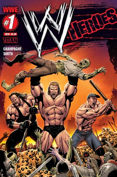 WWW Heroes Official Comic Series in 2010