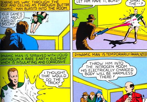 Le Lantholum qui paralysait Dynamic Man...