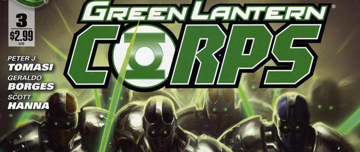 Avant-Première VO: Green Lantern Corps #3