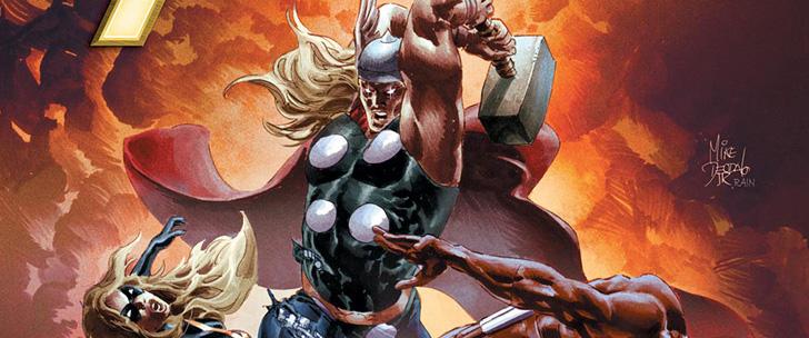 Avant-Première VO: Review New Avengers #21