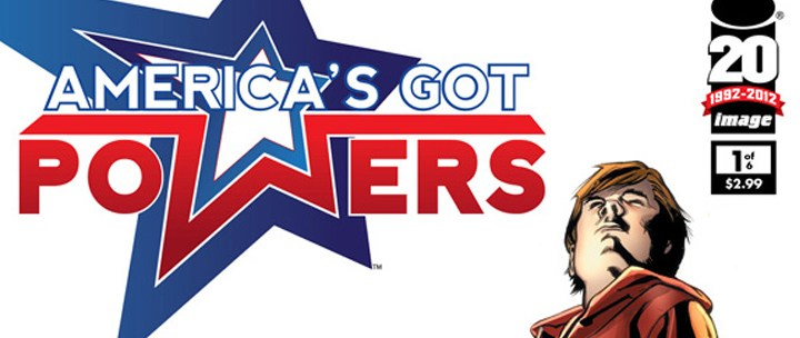 Preview: America's Got Powers #1